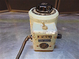 Fisher Scientific Powerstat Variable Transformer Type 3pn116b Works Good s3016
