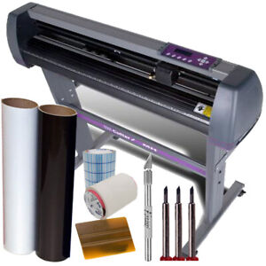 Uscutter 28 Vinyl Cutter Plotter Kit Design cut Software Make Decals Signs