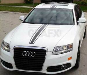 7 5 Center Rally Racing Stripe Stripes Graphics Decals For Any A Class Audi
