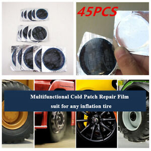 45pcs Radial Tire Repair Round Patch Tubeless Assortment Small Medium Large Sale