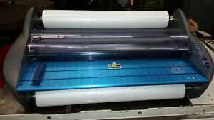 Gbc Pinnacle 27 Hot Shoe Document Roll Laminator Nap1 Nap2 500 Rolls Of Film
