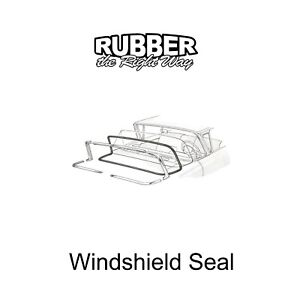 1957 1958 Edsel Mercury Windshield Seal