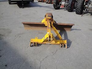 Nice Williams Ag Abh72 6 Foot Angle Tilt And Offset 3 Point Scrape Blade 790