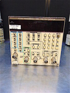 Tektronics Fg 5010 Programmable 20mhz Function Generator Tested S3039