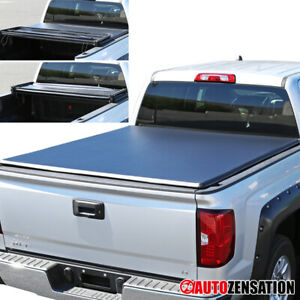 2007 2013 Chevy Silverado Gmc Sierra Trifold Tonneau Cover 5 8ft Short Bed