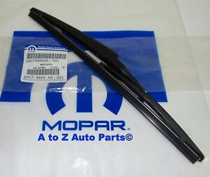 New 2011 2019 Dodge Durango Rear Liftgate Wiper Blade Refill Oem