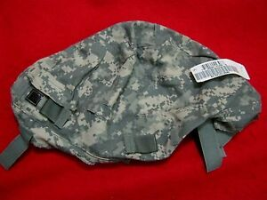 ISSUE  US MILITARY ACU LG XLG ACH HELMET COVER W NVG FLAP + IR TABS