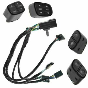 Oe Oem Steering Wheel Switch Wiring Kit Set Of 5 For Chevy Gmc Cadillac