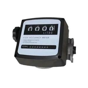 Gasoline Station Digital Petrol Diesel Fuel Oil Turbine Flow Meter Counter