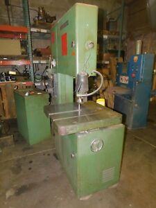 Powermatic Vertical Bandsaw 20 Model 87