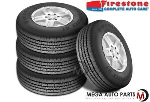 4 X Firestone Transforce Ht Lt245 75r16 120r Bw E Heavy Duty All Season Tires