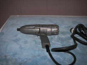 Vintage Ingersoll Rand Model C 1 2 Electric Impact Wrench