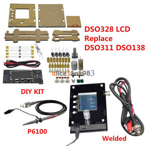 For Smt32 Dso328 Lcd 1msps 200khz Mini Oscilloscope Tester Replace Dso311 dso138