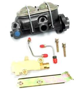 Gm A body Power Master Cylinder W Bleeders Disc Disc Proportioning Valve Kit
