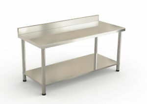 72 X 30 Stainless Steel Work Prep Table With Adjustable Plastic Feet Kitchen