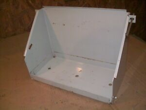 Oliver 1550 1555 1600 1650 1655 1750 Farm Tractor Battery Box With Hold Downs