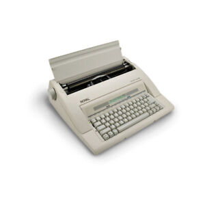 Royal Portable Electronic Typewriter With Lcd Display Spellcheck And Memory