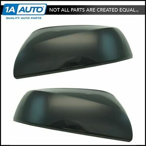 Black Paint To Match Mirror Cap Lh Rh Pair For Toyota Tacoma Pickup Truck