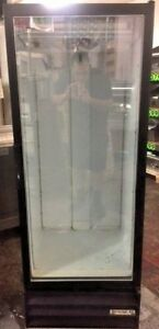 Beverage Air Mt12 b One Single Glass Door Merchandiser Refrigerator Cooler Reach