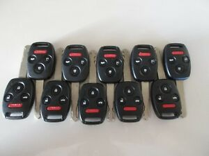 2006 2016 Lot Of 10 Honda Civic Odyssey 4 Button Keyless Remotes N5f s0084a Oem
