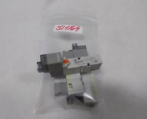 Smc Solenoid Valve Lot Of 4 Syj3143