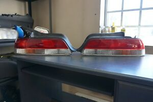 Jdm 1997 2001 Honda Prelude Tail Lights Lamps Oem Bb6 Bb8 Tail Lights