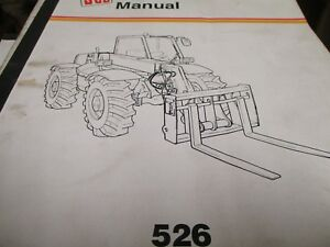 Jcb 526 Loadall Operators Manual