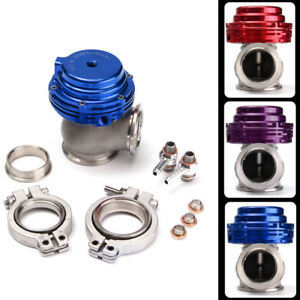 38mm Exhaust Wastegate External Turbo With V band And Flanges Mv s All Spring Us