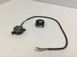 New Dynamics Research Corporation Tk731 4e21 Rotary Encoder Shaft 6 29mm