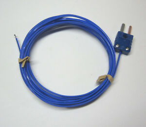 T type Thermocouple Sensor Probe High Temp 500 f Awg 24 Wire Fep Insulation 3ft