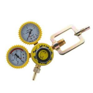 Acetylene Pressure Reducer Mig Tig Flow Control Gas Regulator Gauge Welding