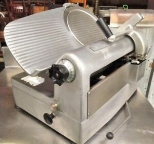 Hobart 1712 Meat Cheese Deli Slicer 12 Automatic Manual Commercial 115v Clean