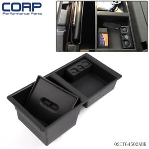 14 18 Gm Center Console Organizer For Oem Part 22817343 Front Floor Insert Tray
