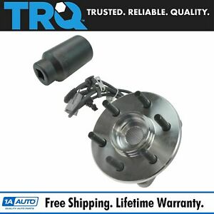 Trq Front Hub Bearing Passenger Side W 32mm Socket For Dodge 4wd W 4 Wheel Abs