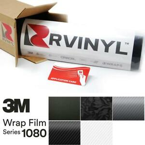 3m 1080 Carbon Fiber Vinyl Vehicle Car Bike Wrap Decal Film Sticker Sheet Roll