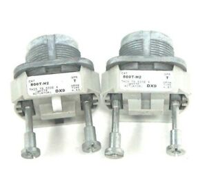 Lot Of 2 Allen Bradley 800t h2 Selector Switches Ser T