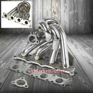 Race Ss Chrome K03 k04 Flange Turbo Manifold For 97 06 A4 1 8l Dohc