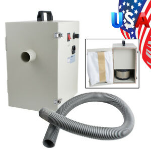 Portable Dental Digital Dust Collector Vacuum Cleaner Equipment Machine Table Us