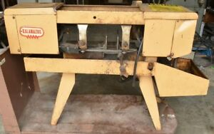 Kalamazoo 7aw 6 X 8 Metal Horizontal Metalworking Band Saw Bandsaw