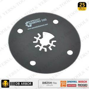 Versa Tool DB25H 80mm Circular Saw Blades Compatible with Fein Multimaster Bosch