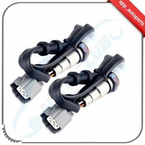 2pcs 1 Upstream 1 Downstream O2 Oxygen Sensor For Honda Accord 1998 2002 2 3l