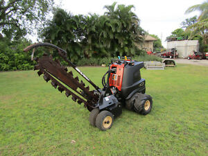 Ditch Witch Zahn 48 Trencher Articulaing Steering 2 Wheel Drive