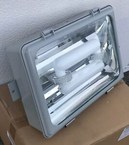 100w Gas Station parking Garage Induction Light Fixture equiv To Led 20 x14