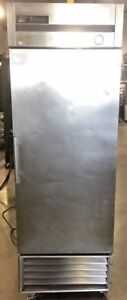 True T 23 Single Solid One 1 Door Refrigerator Reach In One Section Commercial