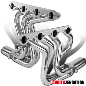 1987 1996 Ford F150 f250 bronco 5 8l V8 Manifold Stainless Steel Exhaust Header