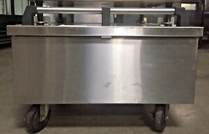 Stainless Steel Equipment Stand W Casters Base Storage Drawer Prep Work Table