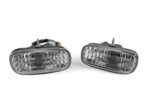 Depo Clear Front Bumper Signal Lights For 93 94 95 96 Toyota Supra Mk 4 Iv Jza80