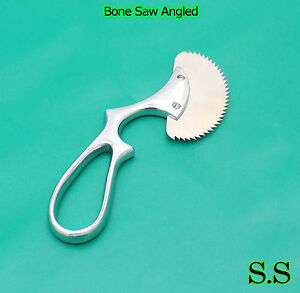 10 Bone Saw Angled 6 Surgical Orthopedic Veterinary Premium Cutting Instrument