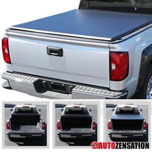 For 2002 2018 Dodge Ram 1500 2500 3500 6 5ft 78 Bed Trifold Tonneau Cover