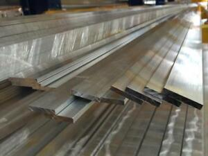 Alloy 304 Stainless Steel Flat Bar 1 8 X 2 1 2 X 72 2 Pieces